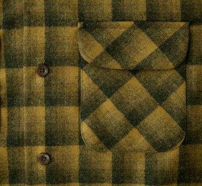 画像2: ペンドルトン ウールシャツ ボードシャツ ブロンズ・チャコールオンブレXS・S/Pendleton Board Shirt(Bronze Charcoal Ombre)