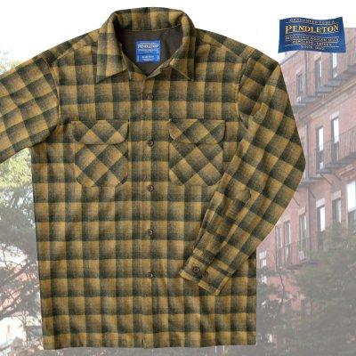 画像1: ペンドルトン ウールシャツ ボードシャツ ブロンズ・チャコールオンブレXS・S/Pendleton Board Shirt(Bronze Charcoal Ombre)