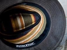 画像3: ペンドルトン オイルスキン ハット(ブラウン)/Pendleton Oilskin Hat (3)