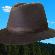画像2: ペンドルトン オイルスキン ハット(ブラウン)/Pendleton Oilskin Hat (2)