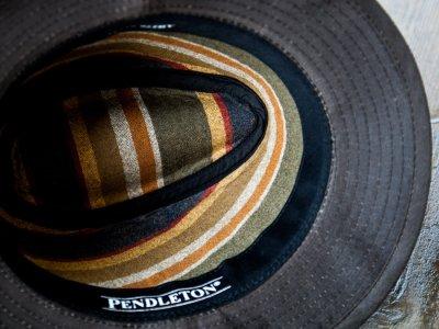 画像3: ペンドルトン オイルスキン ハット(ブラウン)/Pendleton Oilskin Hat