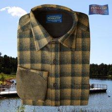 画像3: ペンドルトン ウール シャツ・エルボーパッチ トレイルシャツ ブロンズ・チャコールオンブレS/Pendleton Trail Shirt (Bronze Charcoal Ombre) (3)