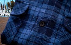 画像3: ペンドルトン ウールシャツ ボードシャツ ブループラッド/Pendleton Board Shirt (3)