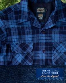 画像2: ペンドルトン ウールシャツ ボードシャツ ブループラッド/Pendleton Board Shirt (2)