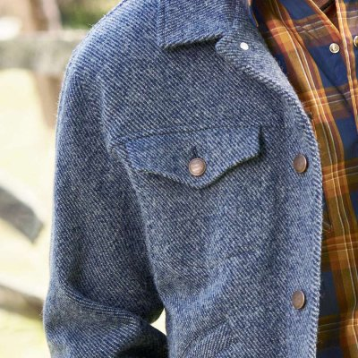 画像2: ペンドルトン ウールデニム ジーンジャケット(ダークブルーデニム)/Pendleton Jacket