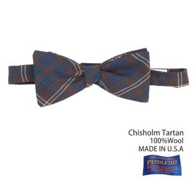 画像1: ペンドルトン アメリカ製 ウール ボウタイ 蝶ネクタイ(チズム タータン)/Pendleton Bow Tie Chisholm Tartan