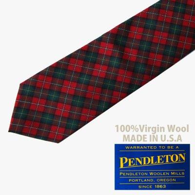 画像1: ペンドルトン ネクタイ(ロイヤルスチュワートタータン)/Pendleton Necktie(Royal Stewart Tartan)