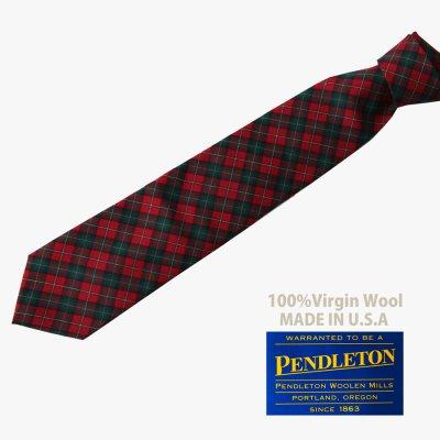 画像2: ペンドルトン ネクタイ(ロイヤルスチュワートタータン)/Pendleton Necktie(Royal Stewart Tartan)