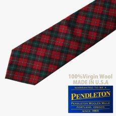 画像1: ペンドルトン ネクタイ(ロイヤルスチュワートタータン)/Pendleton Necktie(Royal Stewart Tartan) (1)
