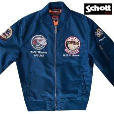 画像7: ショット NYC MA-1 フライト ジャケット(ブラック)大きいサイズ2XL/Schott NYC MA-1 Commemorative Flight Jacket(Black) (7)