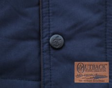 画像3: アウトバック トレーディング カウボーイ ダウン ベスト(ネイビー)/Outback Trading Down Vest(Navy) (3)