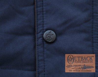 画像3: アウトバック トレーディング カウボーイ ダウン ベスト(ネイビー)/Outback Trading Down Vest(Navy)
