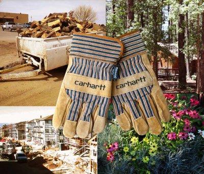 画像1: カーハート スエード ワーク グローブ シンサレート・ThinsulateTM Insulation/Carhartt Suede Work Gloves(Safety Cuff-Insulated)
