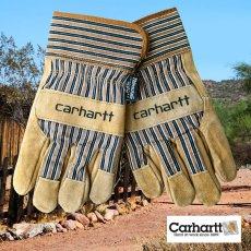 画像1: カーハート スエード ワーク グローブ シンサレート・ThinsulateTM Insulation/Carhartt Suede Work Gloves(Safety Cuff-Insulated) (1)
