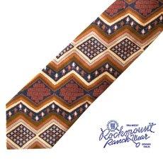 画像1: ロックマウント ランチウエアー シルク ネクタイ(ナバホ)/Rockmount Ranch Wear Silk Necktie(Navajo) (1)