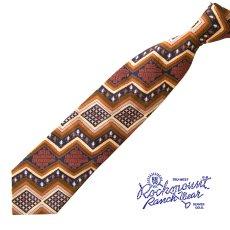 画像2: ロックマウント ランチウエアー シルク ネクタイ(ナバホ)/Rockmount Ranch Wear Silk Necktie(Navajo) (2)