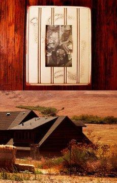 画像3: アメリカ製 ウッド フォトフレーム(木製写真立て)/Wood Photo Frame (3)