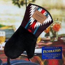 画像1: ペンドルトン ウール レザー ミトン/Pendleton Wool Suede Mitt (1)