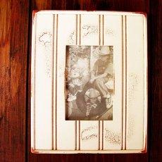 画像1: アメリカ製 ウッド フォトフレーム(木製写真立て)/Wood Photo Frame (1)