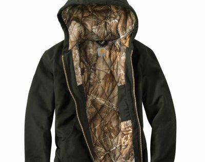 画像3: カーハート カモラインド アクティブ ジャケット(ダークブラウン)/Carhartt Camo Lined Active Jacket(Dark Brown)
