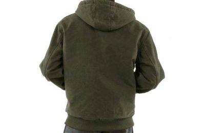 画像2: カーハート ダーククリムゾンプラッド ラインド アクティブ ジャケット(グラベル)/Carhartt Lined Active Jacket(Gravel)