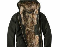 画像3: カーハート カモラインド アクティブ ジャケット(ダークブラウン)/Carhartt Camo Lined Active Jacket(Dark Brown) (3)