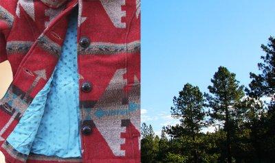 画像3: トゥルーグリット イエローストーン アズテック カントリージャケット(レディース・ライトブラウン)S/True Grit Yellowstone Jacket(Light Brown)