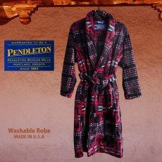 画像2: ペンドルトン ハーディング ウエスタン ローブ・ガウン/Pendleton Washable Robe(Harding) (2)