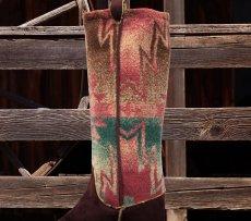 画像2: カウボーイ ブーツ ストッキング(インテリア)/Cowboy Boot Stocking (2)