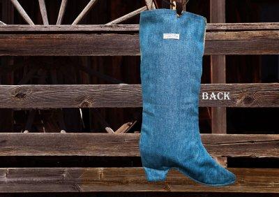 画像3: カウボーイ ブーツ ストッキング(インテリア)/Cowboy Boot Stocking