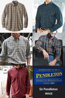 画像3: ペンドルトン サーペンドルトン ウールシャツ マクダガルタータンL/Pendleton Sir Pendleton Wool Shirt(MacDougall Tartan) (3)