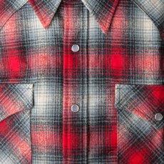 画像3: ペンドルトン ウエスタンシャツ(レッド・ブラック・ベージュオンブレ)/Pendleton Western Shirt (3)