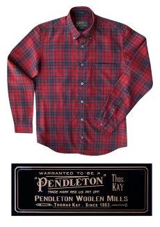 画像3: ペンドルトン トーマス・ケイ ジャスパー ウールシャツ(マシソンタータン)/Pendleton Thomas Kay Jasper Shirt(Matheson Tartan) (3)