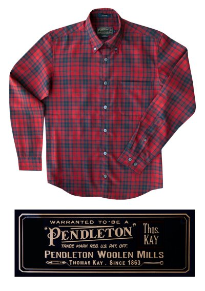 画像2: ペンドルトン トーマス・ケイ ジャスパー ウールシャツ(マシソンタータン)/Pendleton Thomas Kay Jasper Shirt(Matheson Tartan)