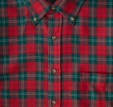 画像3: ペンドルトン サーペンドルトン ウールシャツ(レッド・グリーン・ホワイト)/Pendleton Sir Pendleton Wool Shirt(Red/Green/White) (3)