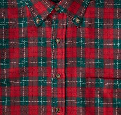 画像2: ペンドルトン サーペンドルトン ウールシャツ(レッド・グリーン・ホワイト)/Pendleton Sir Pendleton Wool Shirt(Red/Green/White)