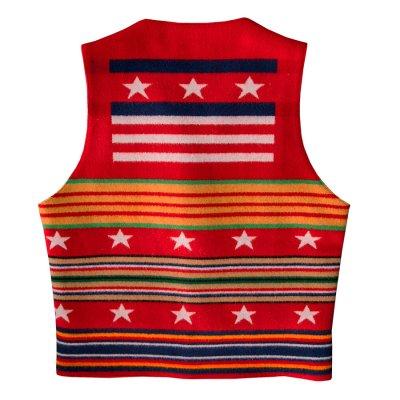 画像2: ペンドルトン ヴァージンウール グレイトフルネイション ウエスタン ベスト/Pendleton Western Wool Vest(Grateful Nation)