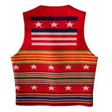 画像2: ペンドルトン ヴァージンウール グレイトフルネイション ウエスタン ベスト/Pendleton Western Wool Vest(Grateful Nation) (2)