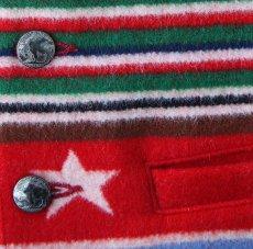 画像4: ペンドルトン ヴァージンウール グレイトフルネイション ウエスタン ベスト/Pendleton Western Wool Vest(Grateful Nation) (4)