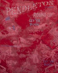 画像2: ペンドルトン ラウンドアップコレクション プレミアムティー(レディース)S/Pendleton Round Up Tee Women's(Red) (2)
