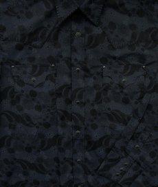 画像2: パンハンドルスリム ウエスタンシャツ ブラック(長袖)/Panhandle Slim Long Sleeve Western Shirt (2)