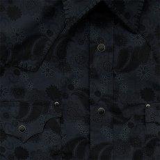 画像3: パンハンドルスリム ウエスタンシャツ ブラック(長袖)/Panhandle Slim Long Sleeve Western Shirt (3)