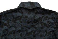 画像4: パンハンドルスリム ウエスタンシャツ ブラック(長袖)/Panhandle Slim Long Sleeve Western Shirt (4)