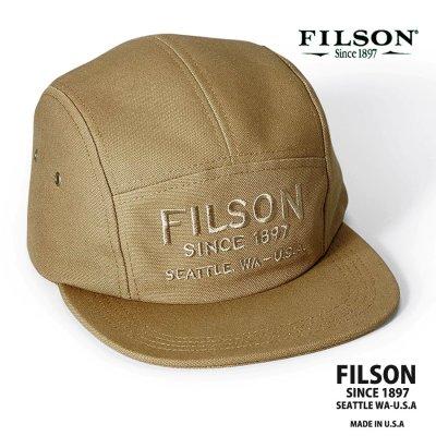 画像1: フィルソン 5パネル キャップ(ラギッドタン)/Filson 5-Panel Cap(Rugged Tan)