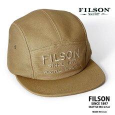 画像1: フィルソン 5パネル キャップ(ラギッドタン)/Filson 5-Panel Cap(Rugged Tan) (1)