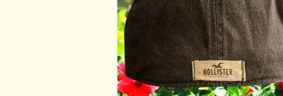 画像2: ホリスター ヴィンテージ ウォッシュ 刺繍 ロゴ キャップ(ブラウン)/Hollister Cap(Brown)