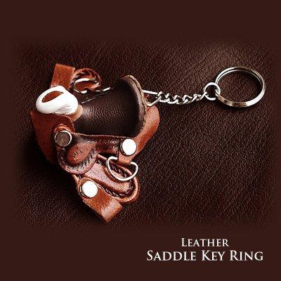 画像1: サドル キーリング/Key Ring
