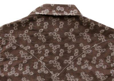 画像3: ライアン マイケル フローラル刺繍 ウエスタン シャツ(ブラウン・長袖)XS/Ryan Michael Long Sleeve Western Shirt(Women's)