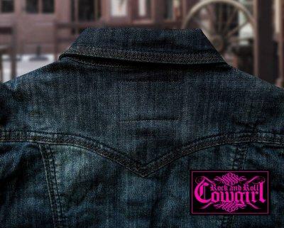 画像3: パンハンドルスリム ロックンロール カウガール ラインストーン ジーンジャケット/Panhandle Slim Women's Jean Jacket
