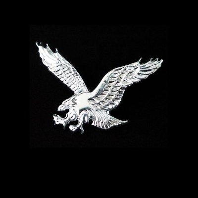 画像1: アメリカンイーグル ハット ピン(シルバー)/American Eagle Hat Pin